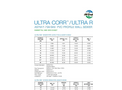 ULTRA - Model CORR / RIB - PVC Gravity Sewer Pipe Submittal & Data Sheets