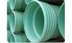 ULTRA - Model CORR / RIB - PVC Gravity Sewer Pipe