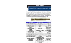 Preamplifiers for LxT/831 – Brochure