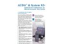 AUDit Software Datasheet - For Audiometer Calibration Brochure