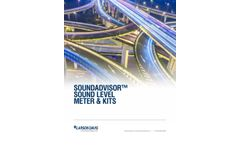 Soundadvisor Sound Level Meter & Kits - Brochure