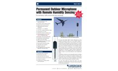 Permanent Outdoor Microphone with Remote Humidity Sensing - Datasheet