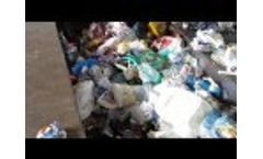 Domestic Waste Refuse Treatment Plant Video