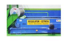 Regulator Cetrisa - Model R-SPM-E - Eddy Current Separator Eccentric