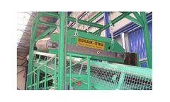 Regulator Cetrisa - Model R-SKM - Electromagnetic Overbelt Separator System