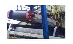 Regulator Cetrisa - Model R-OMP - Permanent Magnetic Overbelt Separator System