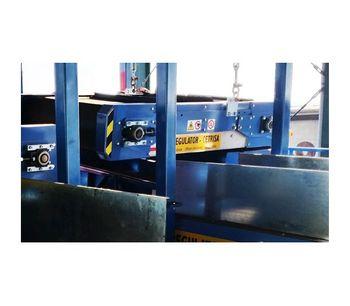 Permanent Magnetic Overbelt Separator System-1