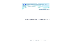 Statement of Qualifications Brochure