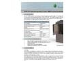 Model ECT10800 - Internal Evaporative Cooler