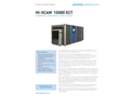 Hi-Scan - Model 10080 XCT - Heimann X-Ray Inspection System - Datasheet