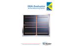 Model FAN-E - Pitot Airflow Measurement Traverse Station - Brochure