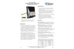 Model ELECTRA-flo/SD - Thermal Airflow & Temperature Measurement System - Datasheet