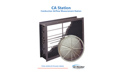 Model CA - Combustion Airflow Measurement Station - Brochure