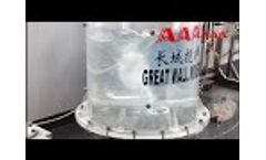 Sanitary Magnetic Bottom Entry Agitator Demonstration at Our Lab.-- Greatwall Mixers Video