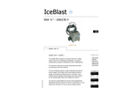 IceBlast - KG6 - Dry Ice Blasting Machine Specifications