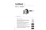 IceBlast - KG12 - Dry Ice Blasting Machine Brochure Specifications