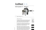 "IceBlast - Model KG30 Supreme ¾"" - 110/230 V - Dry Ice Blasting Machine Specifications"