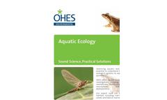 Aquatic Ecology Monitoring Services - Brochure
