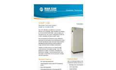 CWP - 100 H - Reverse Osmosis System w/ Heat Loop Disinfection Brochure