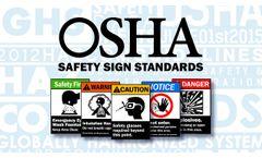 OSHA / ANSI Safety Sign Standards - Video