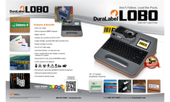 DuraLabel Kodiak - Model DLKODIAK - Industrial Label Printer - Brochure