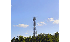 Mobile masts used in African weather monitoring