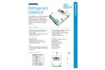 Parasense - Model 3300RM2 - Military Grade Refrigerant Leak Detector Brochure