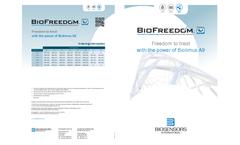 BioFreedom - Model BA9 - Designed for Vascular Stent Technologies - Datasheet