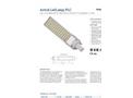 Astrid Ledlamp - Model PLC - LED Lamps Brochure
