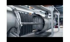 Horizontal Pressure Leaf Filter for Liquid Sulphur Filtration - Filtration Group Video