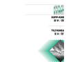 Slanting Mixer / Kneader, Dryer Products- Brochure