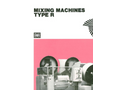 Mixing Machines Products- Brochure