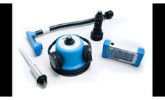 HL 7000 Electroacoustic leak detection with –ground mic –heavy duty contact mic –tracer gas sensor - Video