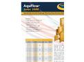 AquFlow - Model Series 3000 - Hydraulically Balanced Diaphragm Pump