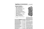 AquFlow HydroDrive - AC Variable Frequency Drive Brochure