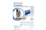 Puddlepal - Submersible Dewatering Pump Brochure