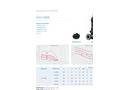 Model ZUG V 080B - Submersible Electric Pumps Brochure