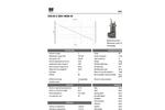 Model DGX - Stainless Steel Submersible Pump Brochure