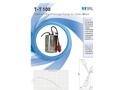 Model T-T100 - Submersible Drainage Pumps Brochure