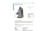 Model DR - Steel Submersible Pump Brochure