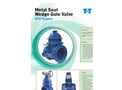 Metal Seat Wedge Gate Valve With Bypass Brochure