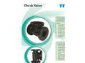 Swing Check Valve- Brochure