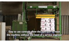 O&P palletising potatoes - Video