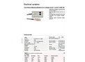 True/Effective Measuring Modules for AC Voltages and AC Current - Brochure