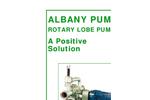 Albany - Lobe Pump - Brochure