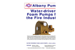 Water Driven Pumps for the Fire Industry Brochure