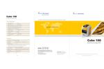 Cube - Model 100 - Portable Precious Metal Tester Brochure