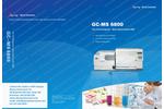 Skyray - Model GC-MS 6800 - Gas Chromatograph Mass Spectrometer Brochure