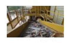 25TPH Construction and Demolition Waste Processing Plant - Video