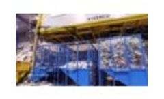 Kiverco Modular Plant Processing Dry Mixed Recyclables - Video